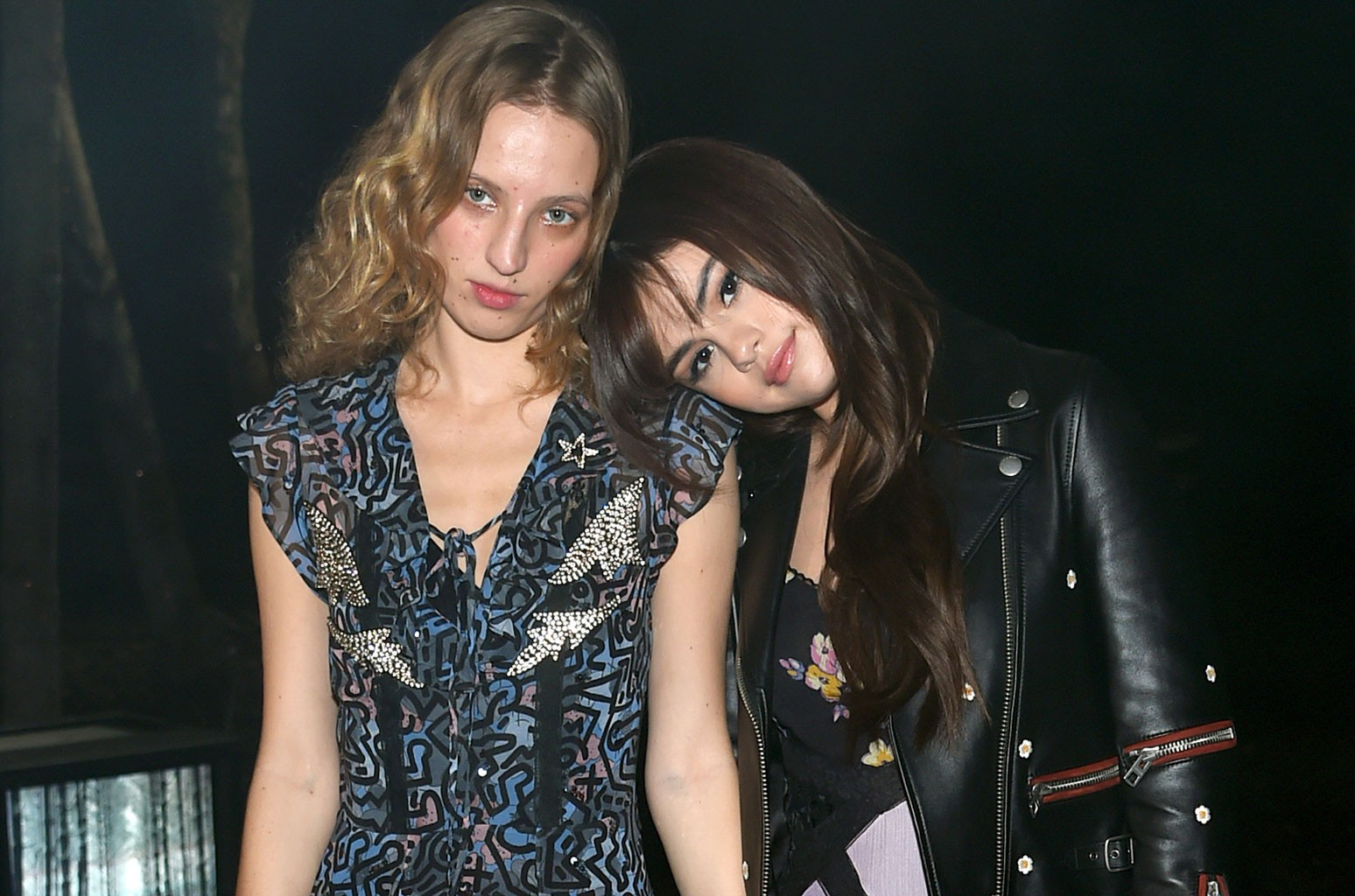 Petra Collins and Selena Gomez