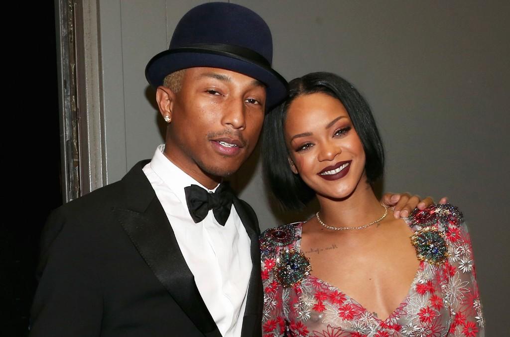 Pharrell Williams Rihanna