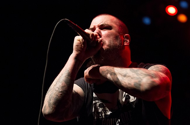 Phil Anselmo of Superjoint