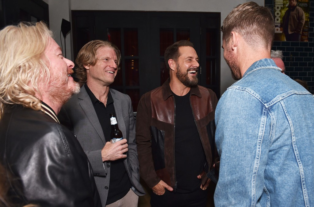 Phillip Sweet and Jimi Westbrook of Little Big Town and Executive Vice President at BMG Chrysalis, Kos Weaver attend 2019 Billboard Country Power Players at Stateside Kitchen at The Dream Hotel on June 4, 2019 in Nashville.