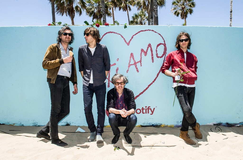 Spotify celebrated the release of the new album by Phoenix - Ti Amo - with an Italian Riviera-themed party at Venice Beach on June 5, 2017.