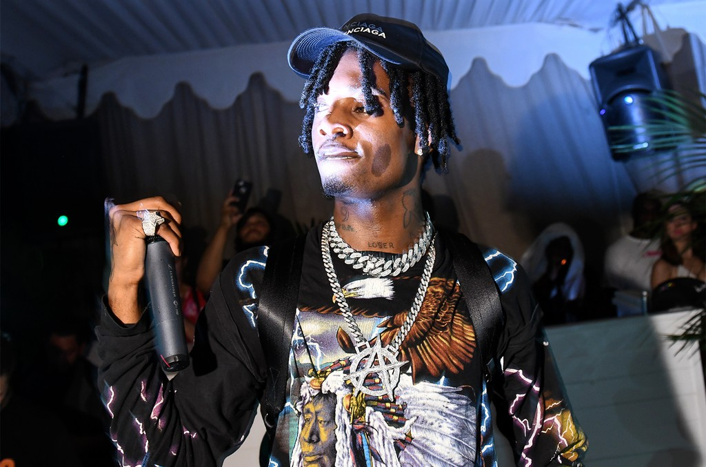 Playboi Carti performs at Up&Down's pop up at SIXTY Hotels Beach Club during Art Basel on Dec. 7, 2017.
