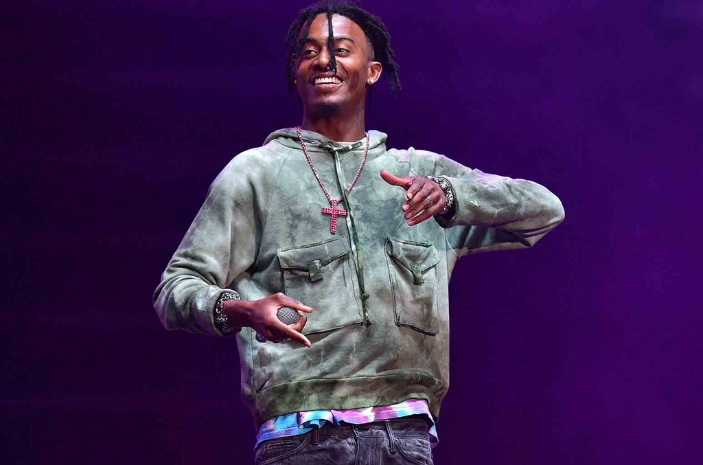 Playboi Carti Performs at the Birthday Bash ATL The pop Up Edition Concert at Philips Arena on June 17, 2017 in Atlanta.