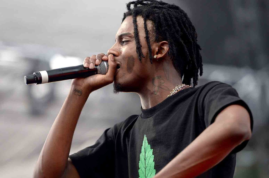 Playboi Carti performs onstage at the Smokers Club 420 event at The Observatory on April 20, 2017 in Santa Ana, Calif.