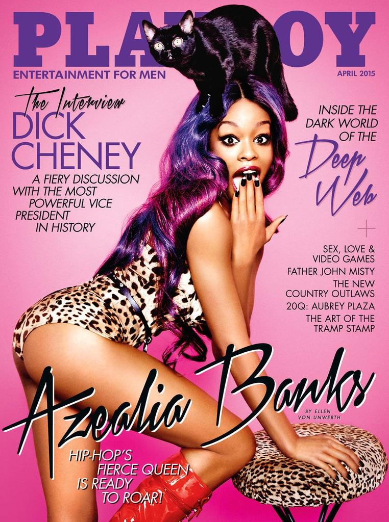 azealia banks, Playboy cover