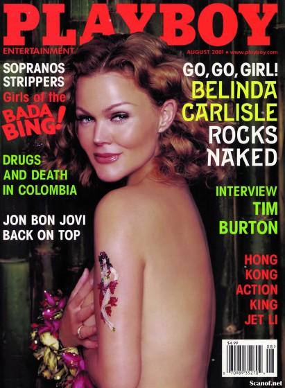 belinda carlile, , Playboy cover