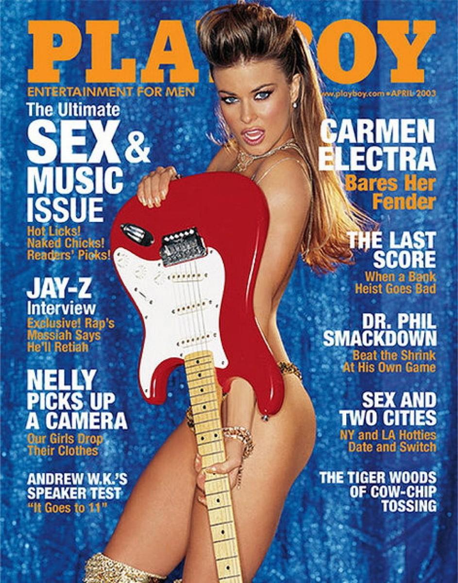 carmen electra, Playboy cover