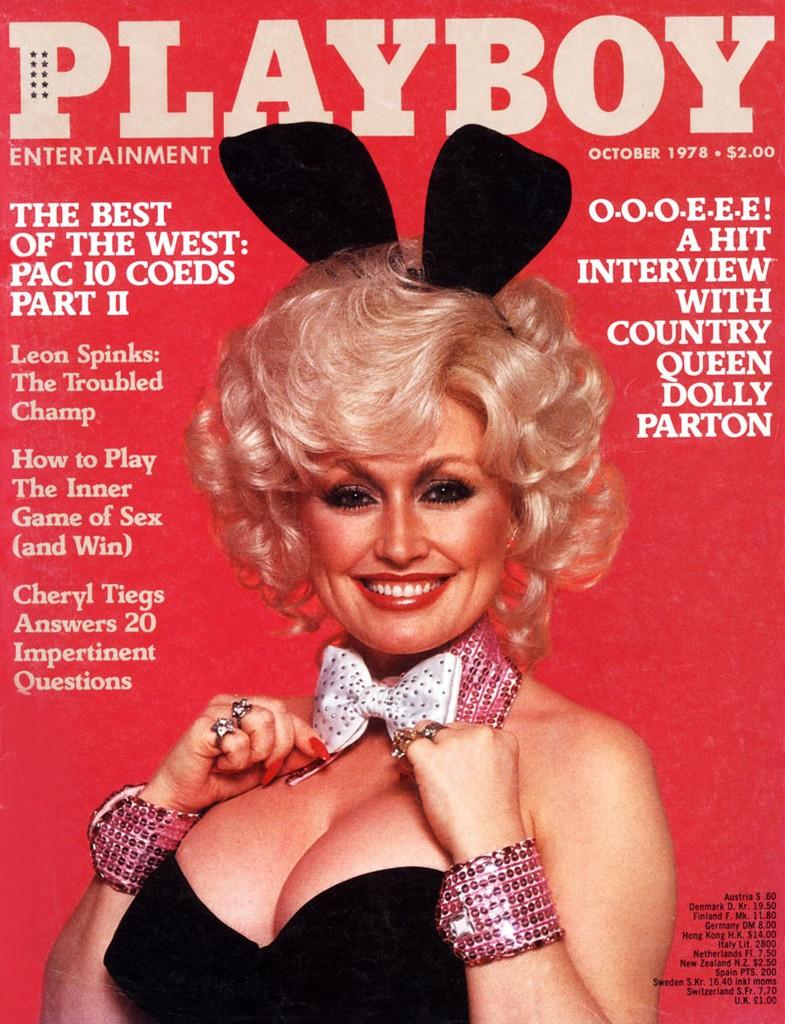 dolly parton, Playboy cover