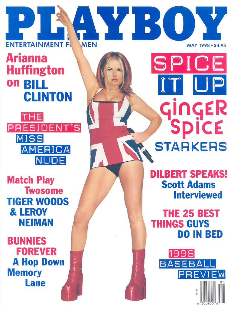 ginger spice, Playboy cover