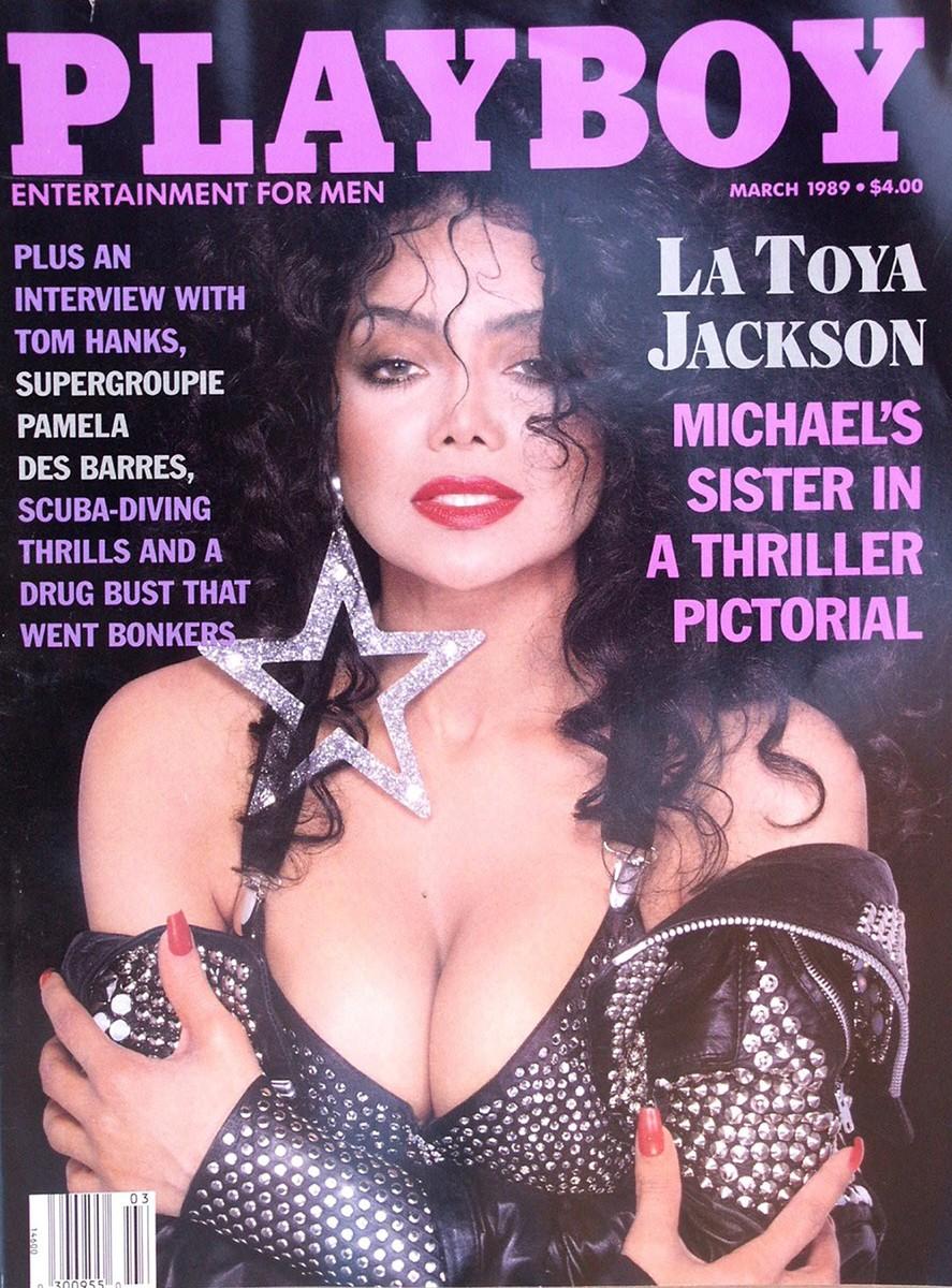 latoya jackson, Playboy cover