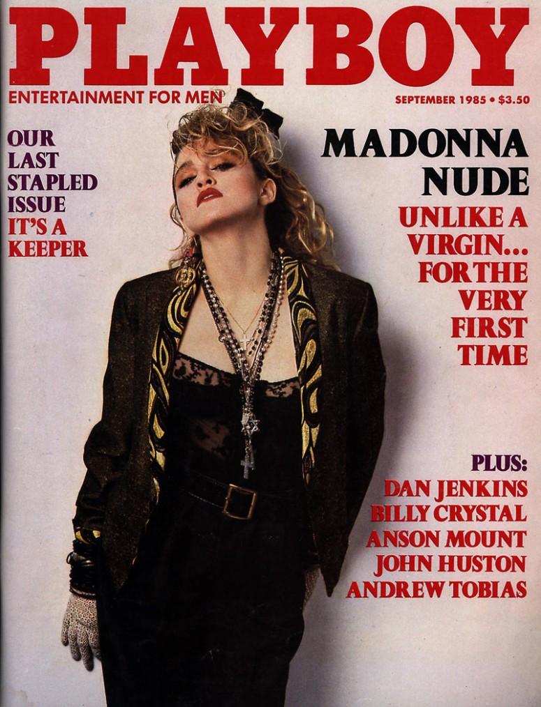 madonna, Playboy cover