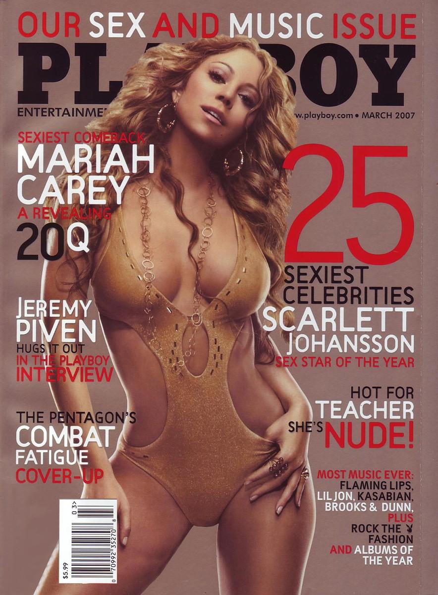 mariah carey, Playboy cover