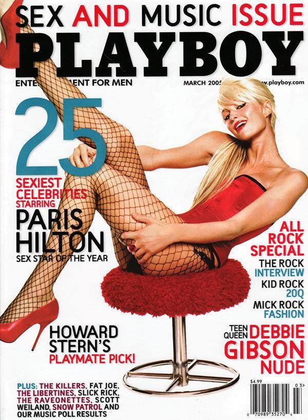 paris hilton , Playboy cover