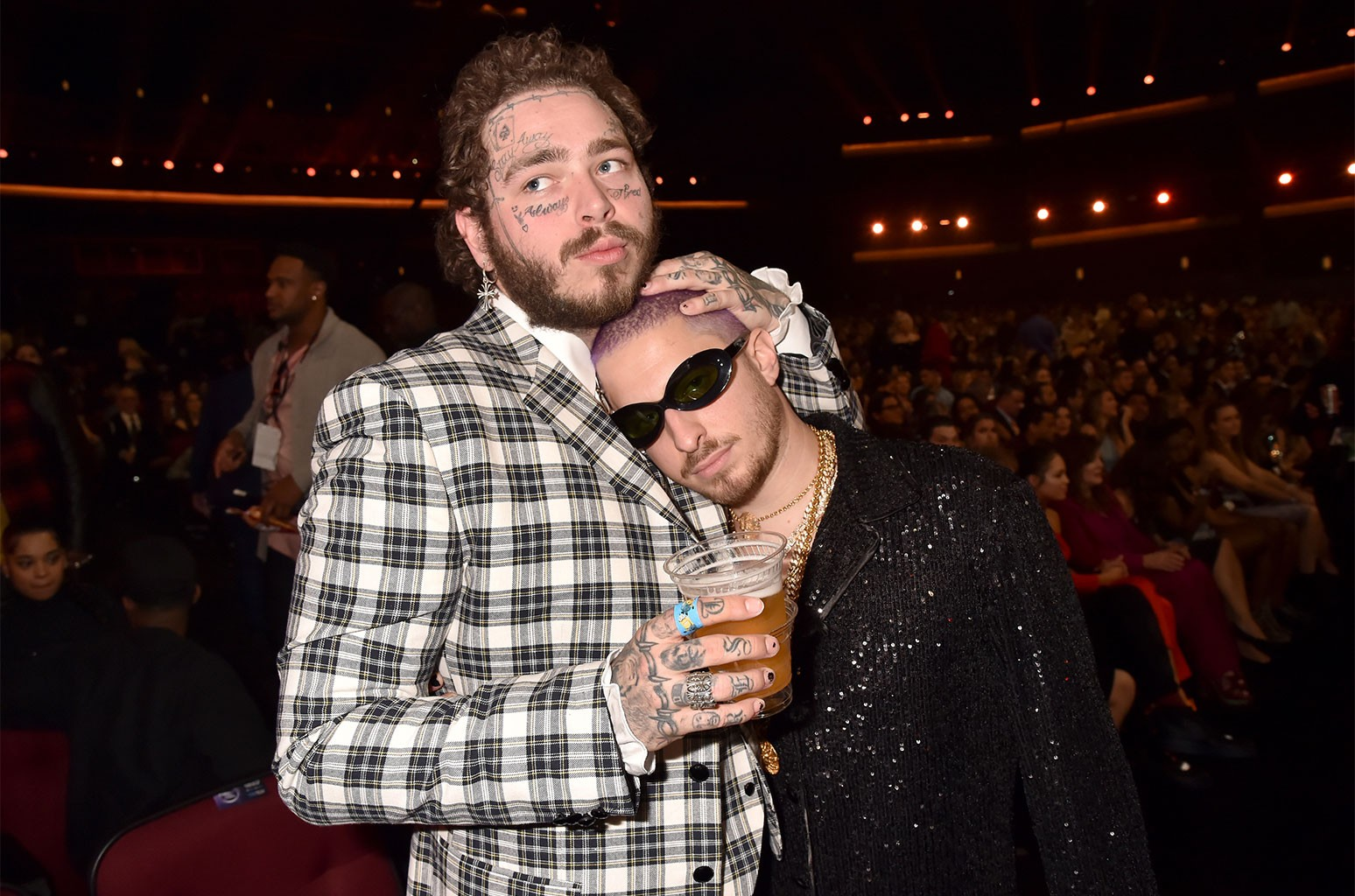 Post Malone and WATT