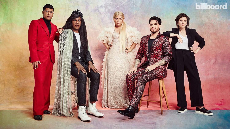 ILoveMakonnen, Big Freedia, Hayley Kiyoko, Adam Lambert and Tegan Quin