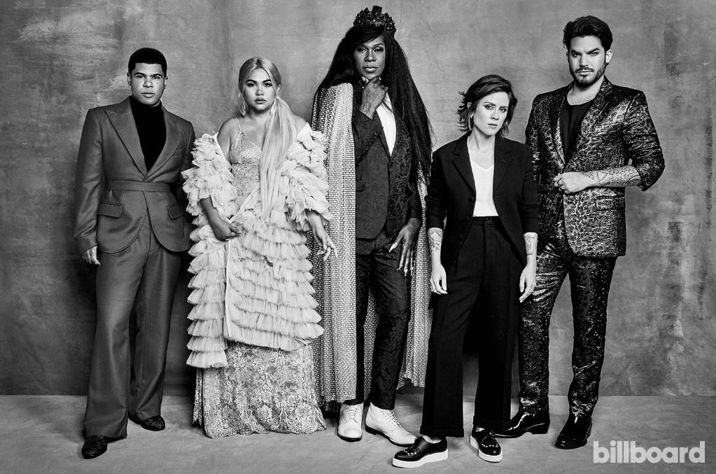 ILoveMakonnen, Hayley Kiyoko, Big Freedia, Tegan Quin and Adam Lambert