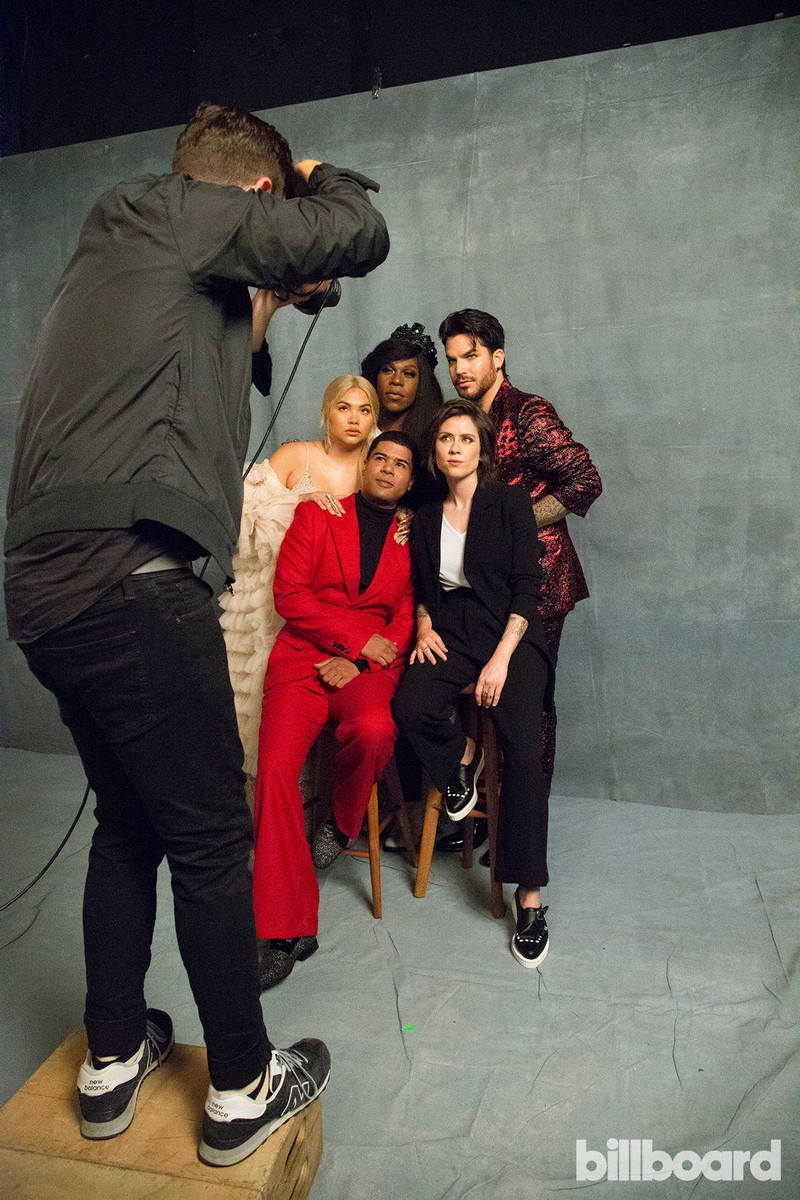 ILoveMakonnen, Big Freedia, Hayley Kiyoko, Tegan Quin and Adam Lambert