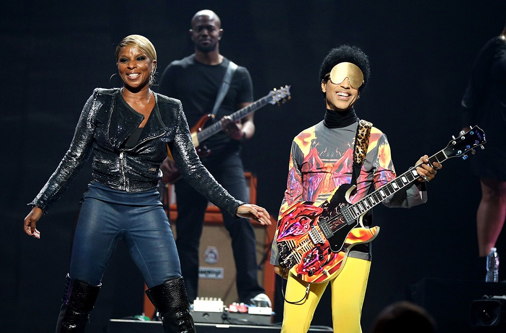 Mary J. Blige and Prince