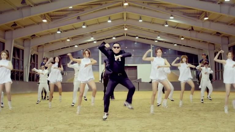 <p>Psy &quot&#x3B;Gangnam Style&quot&#x3B;</p>