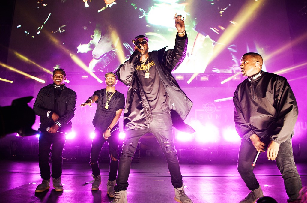 Pusha T, Big Sean, 2 Chainz, and Kanye West