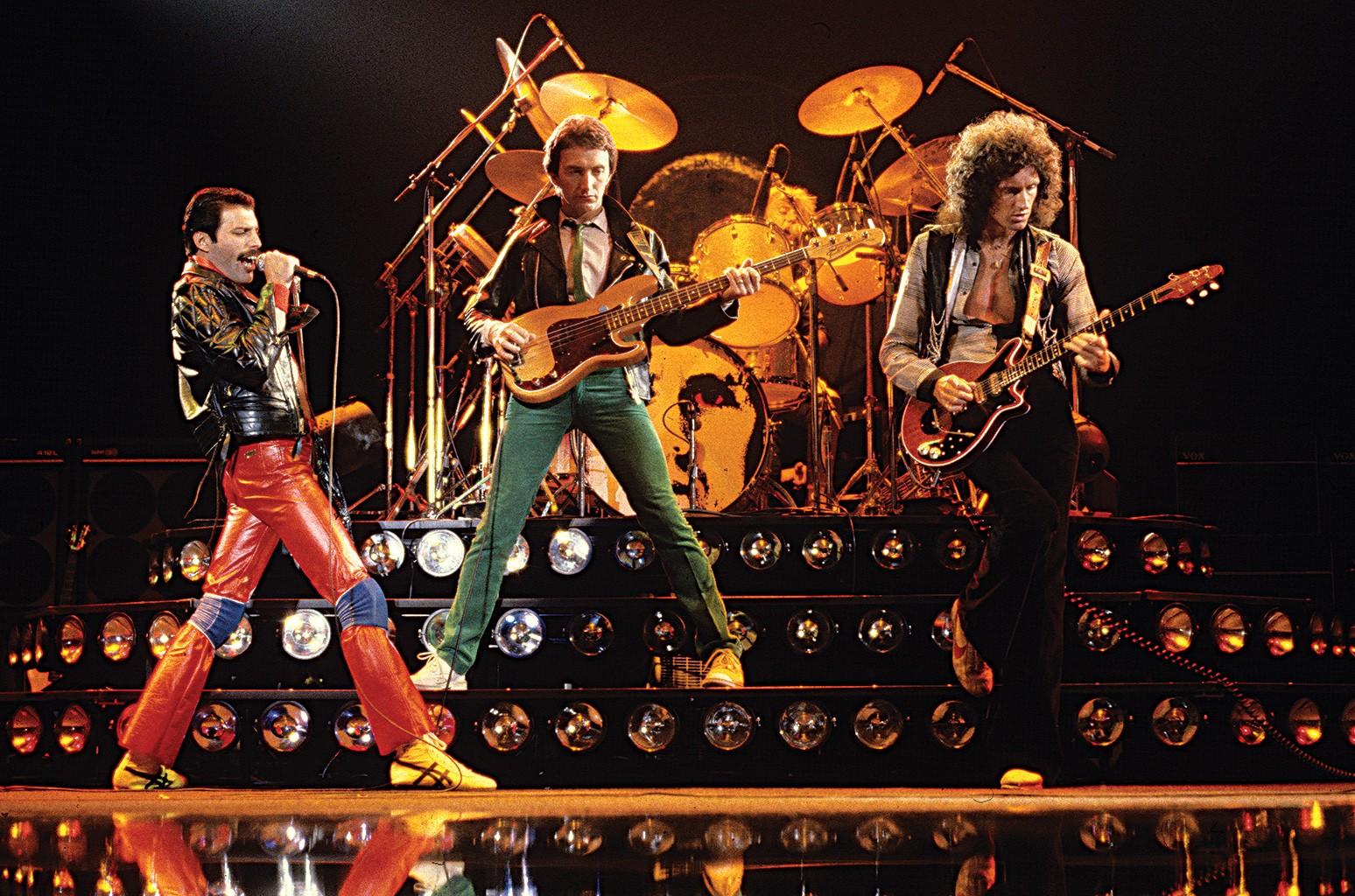 Queen perform in 1980.