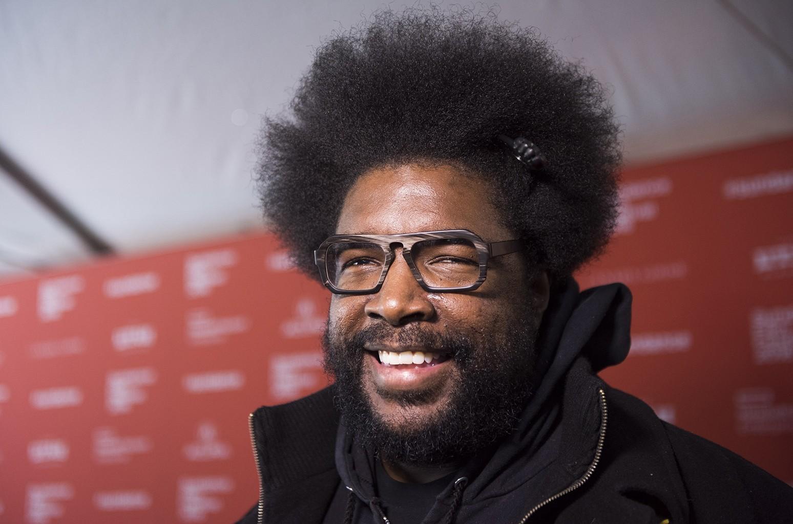 Questlove at the 2016 Sundance Film Festival
