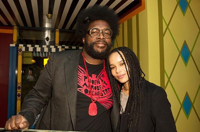 Questlove and Zoe Kravitz