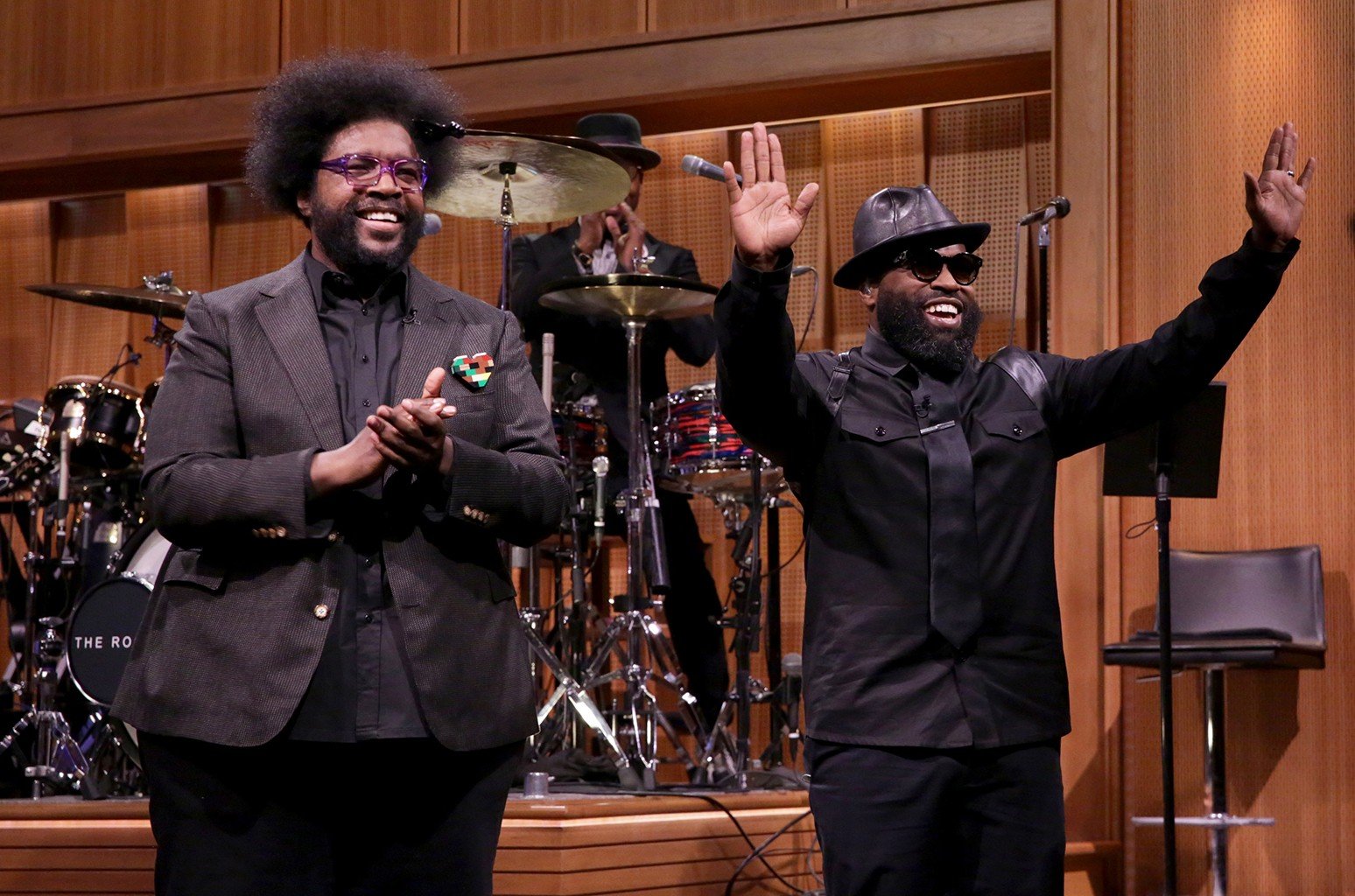 Questlove and Black Thought? of The Roots on Jan. 31, 2017.