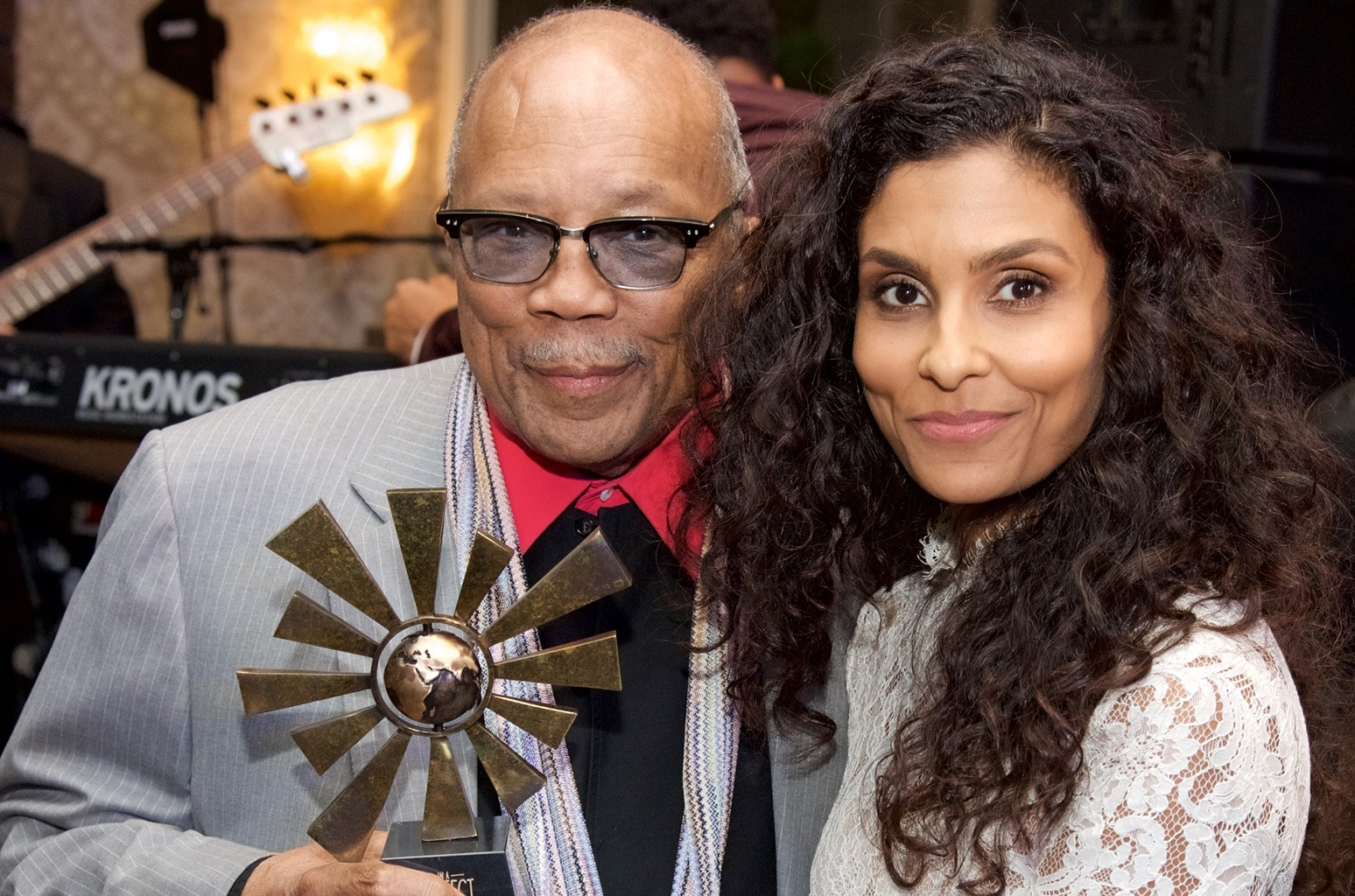 Quincy Jones & Manuela Testolini, 2017
