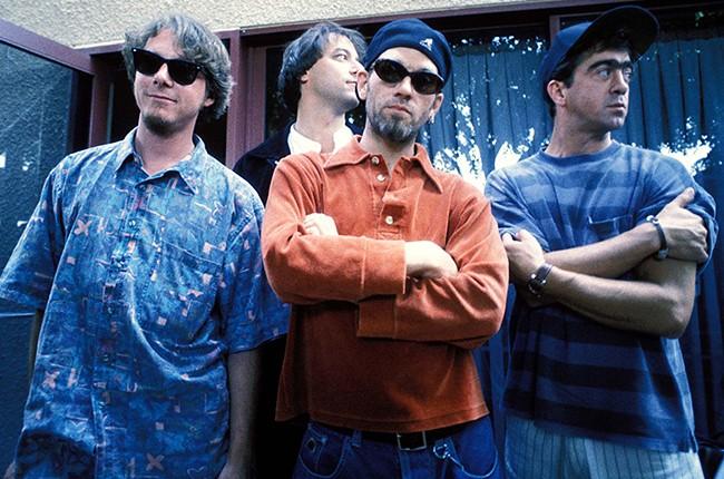 R.E.M. Mike Mills, Bill Berry, Peter Buck Michael Stipe