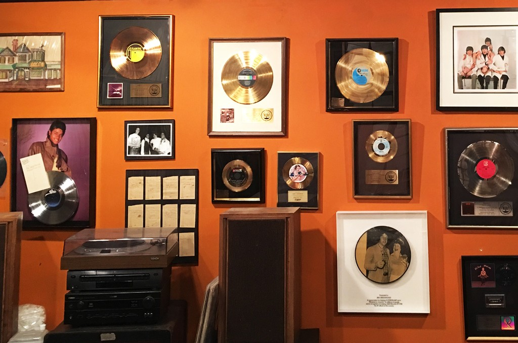 RIAA plaque collection