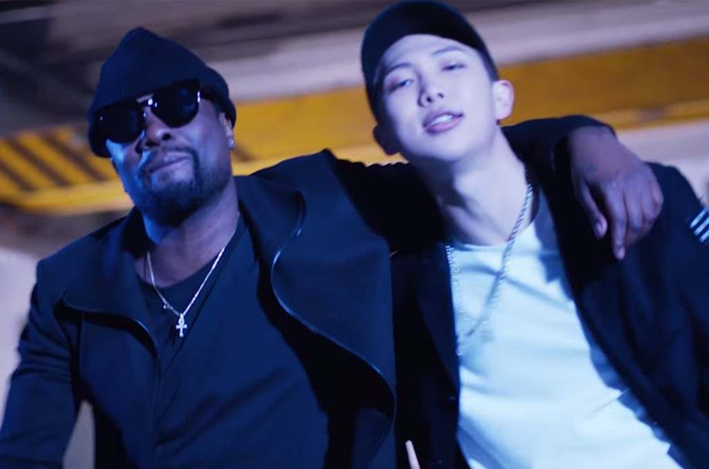 """Wale and RM in the video for """"Change"""""""