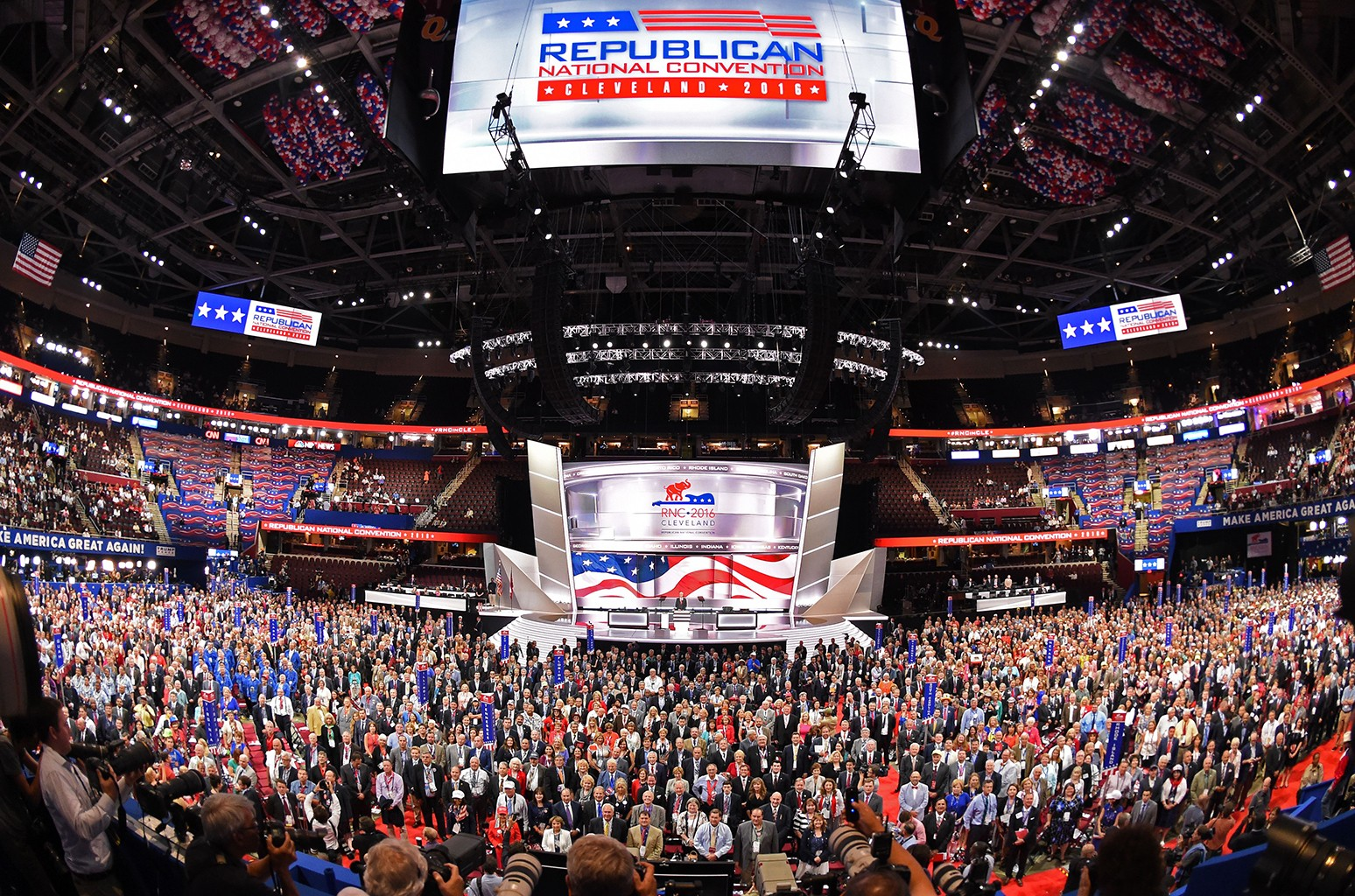 Republican National Convention at the Quicken Loans arena