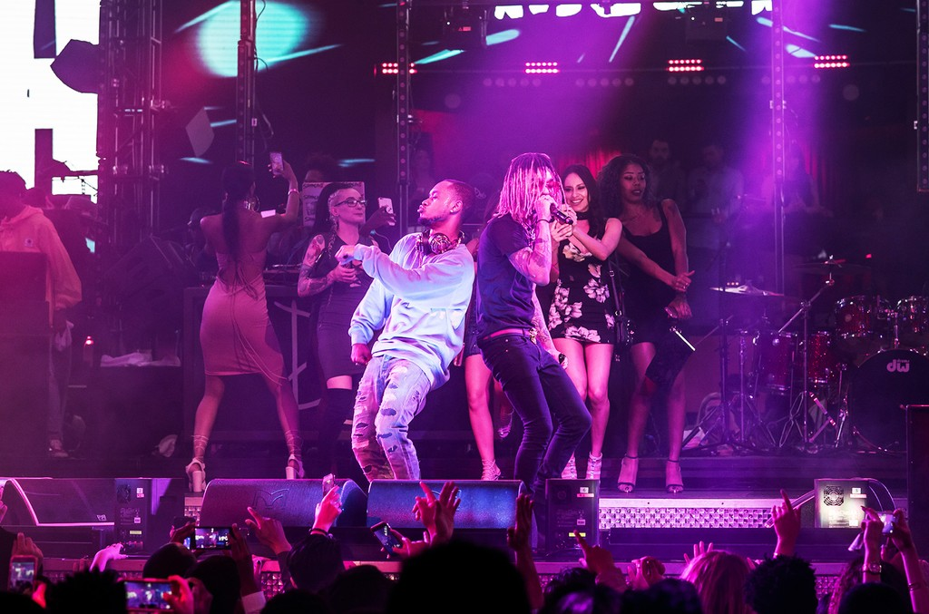 Rae Sremmurd at Drai's Nightclub in Las Vegas on Jan. 14, 2017.