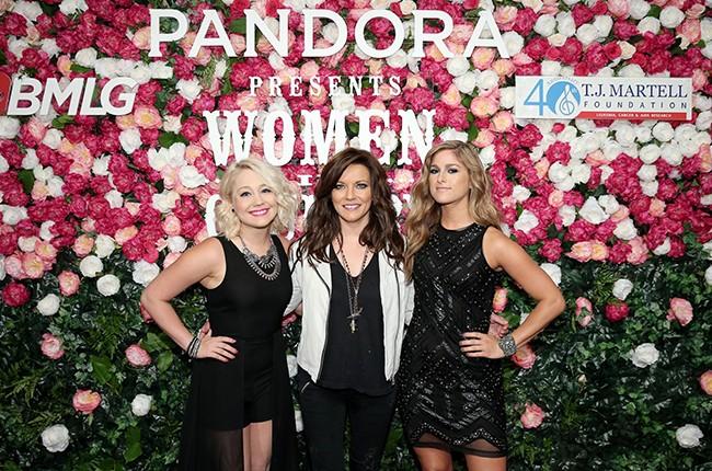 RaeLynn, Martina McBride and Cassadee Pope attend Pandora Presents: Women In Country