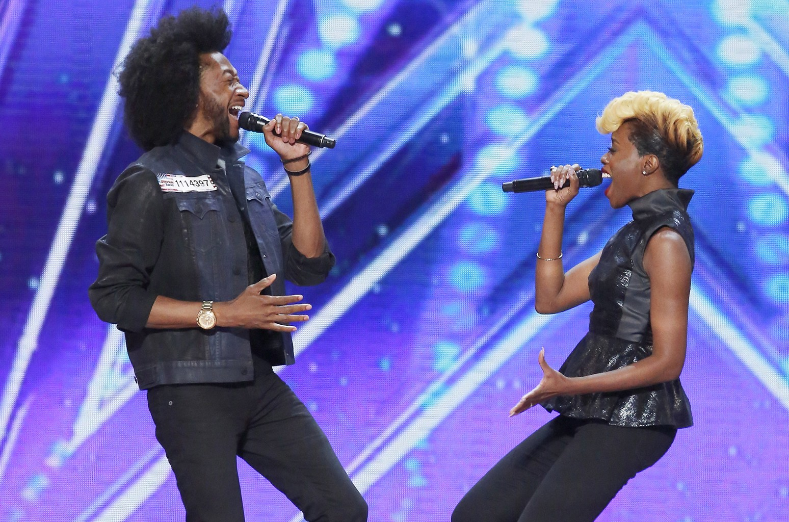 Raii and Whitney Smith on America's Got Talent.