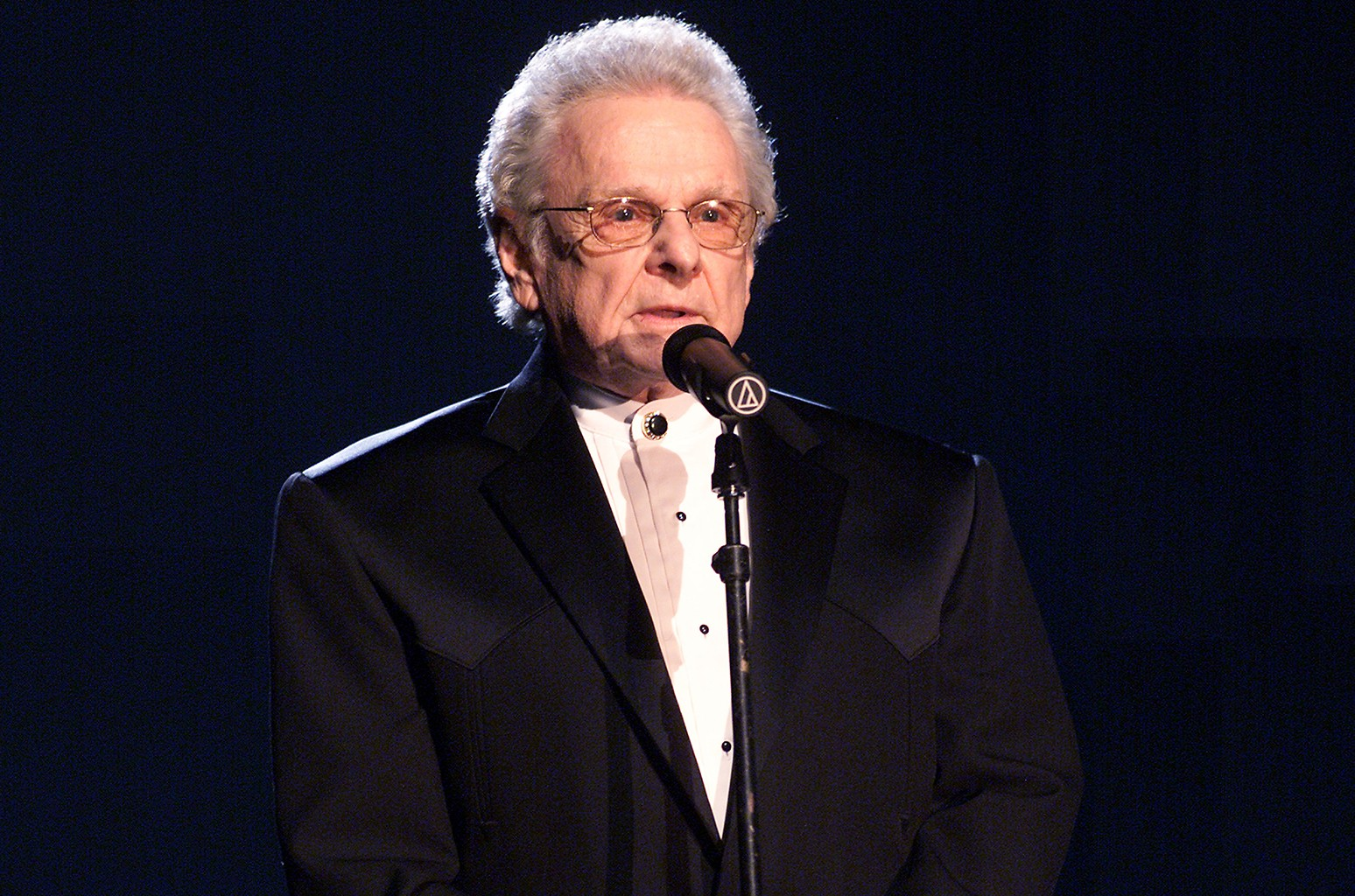 Ralph Stanley at the 44th Annual Grammy Awards