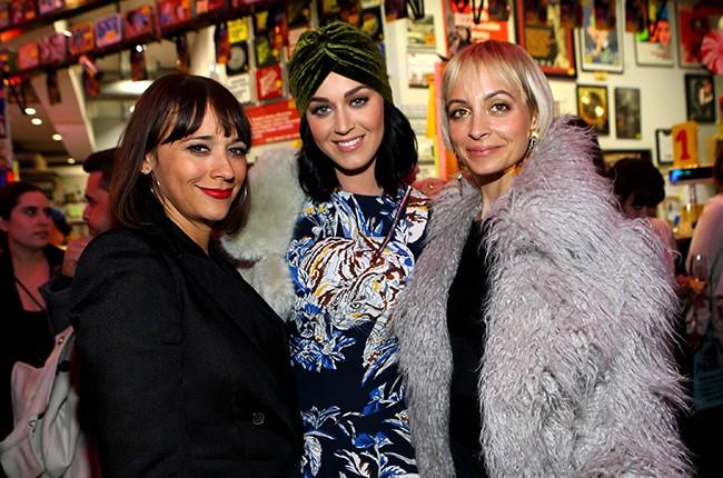 Rashida Jones, Katy Perry and Nicole Richie attend Stella McCartney 2016 Fall Presentatiob