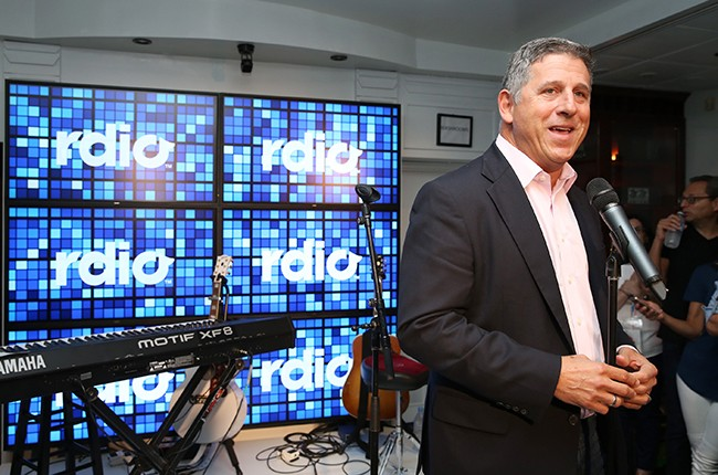 Rdio CEO Anthony Bay