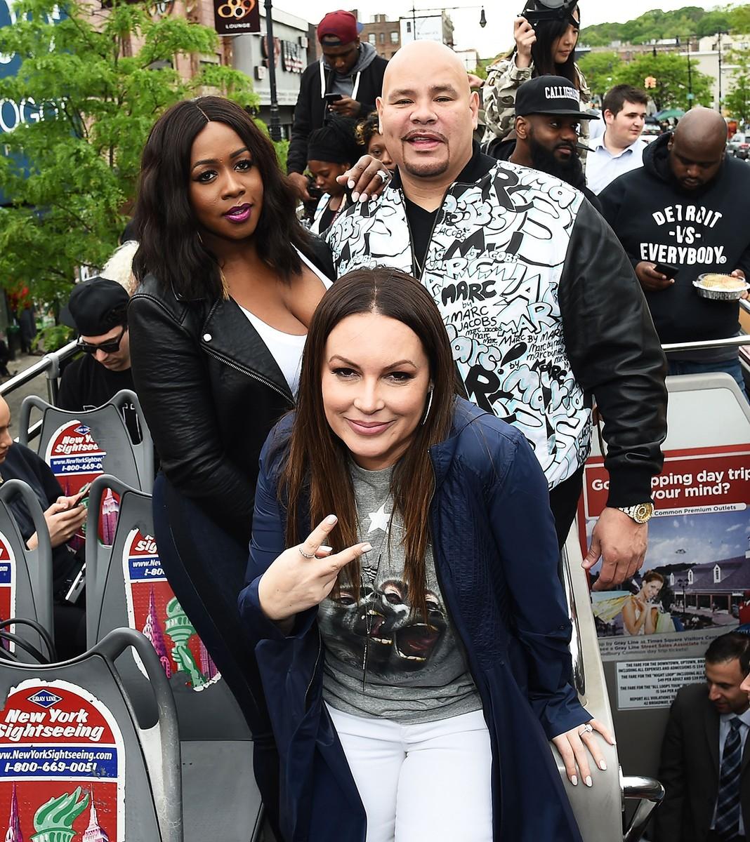Remy Ma, Angie Martinez and Fat Joe