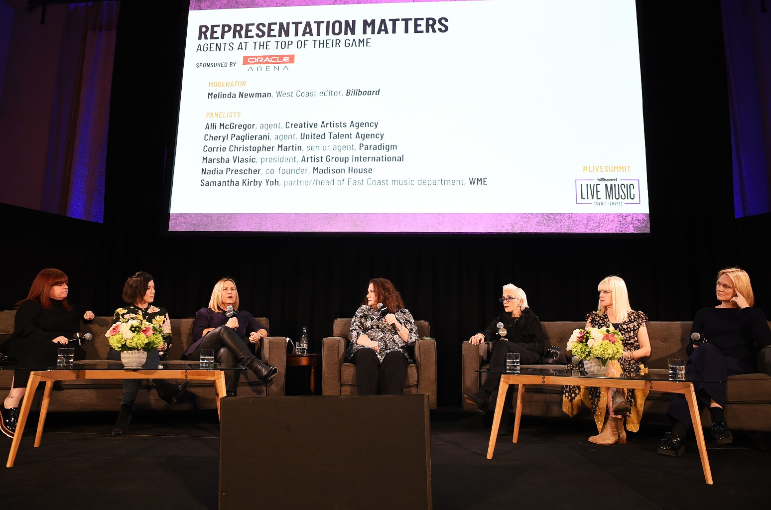 'Representation Matters: Agents at the Top of Their Game' panel