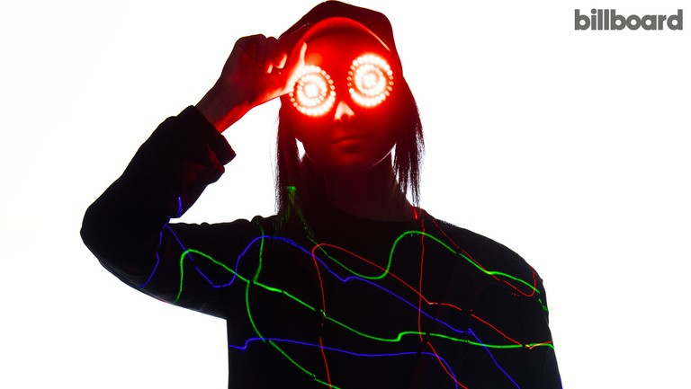 <p>REZZ photographed on March 15, 2019 at Neighbourhood Studios in Toronto.</p>