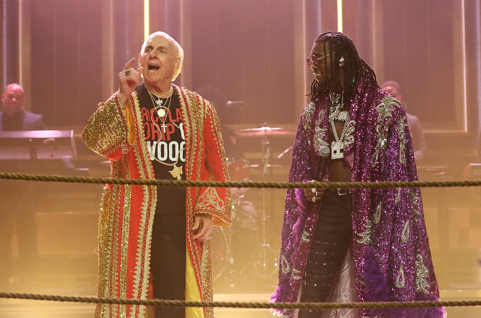 Offset & Metro Boomin with Ric Flair