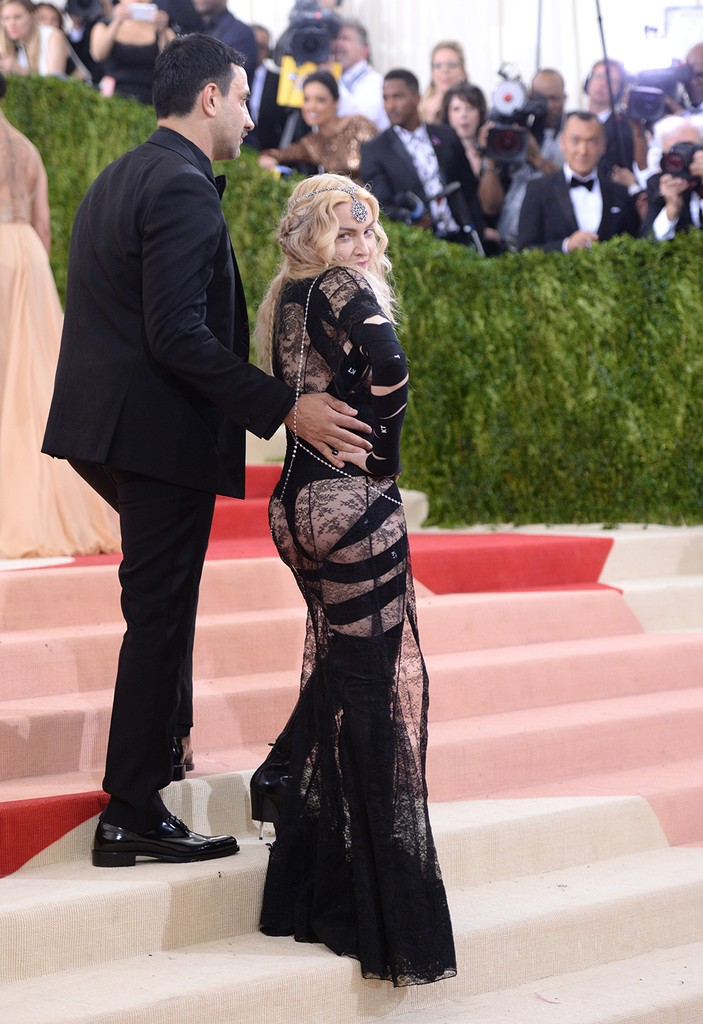 Riccardo Tisci and Madonna 2016