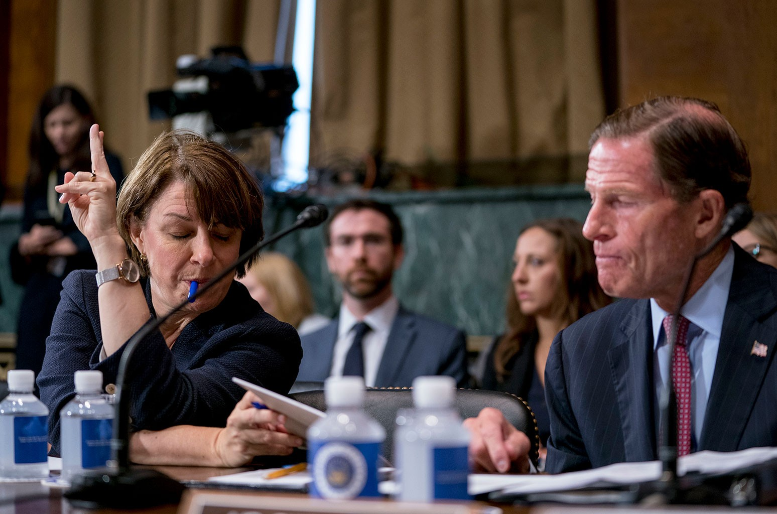 Richard Blumenthal Amy Klobuchar