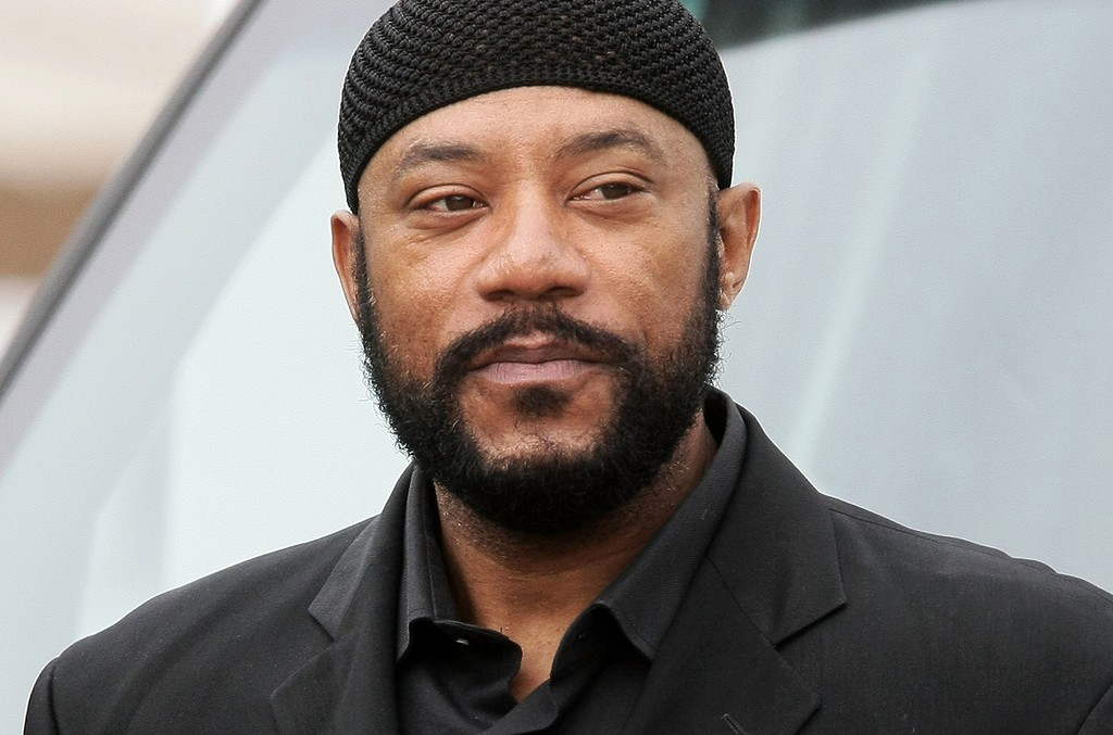 Ricky Harris arrives at Nate Dogg aka Nathaniel Dwayne Hale Funeral Service on March 26, 2011 in Long Beach, Calif.