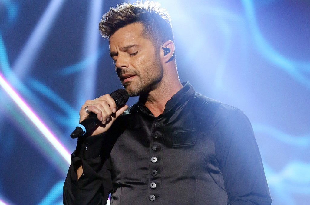 Ricky Martin performs in Miami