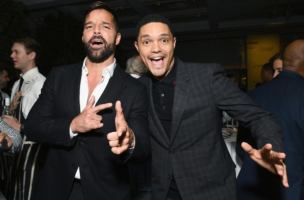 Ricky Martin and Trevor Noah