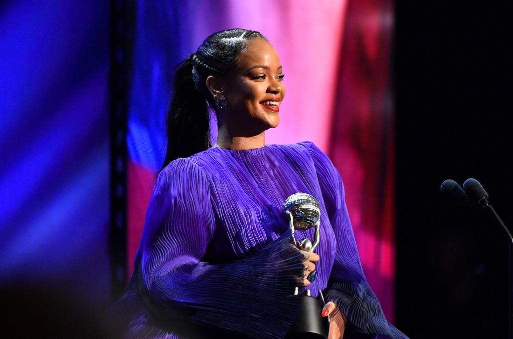 Rihanna Gets Standing Ovation For Inspiring Speech at 2020 NAACP Image Awards: Watch