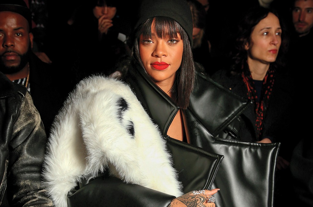 Rihanna in Baumeister in 2014.